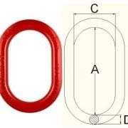 橢圓型鋼圈